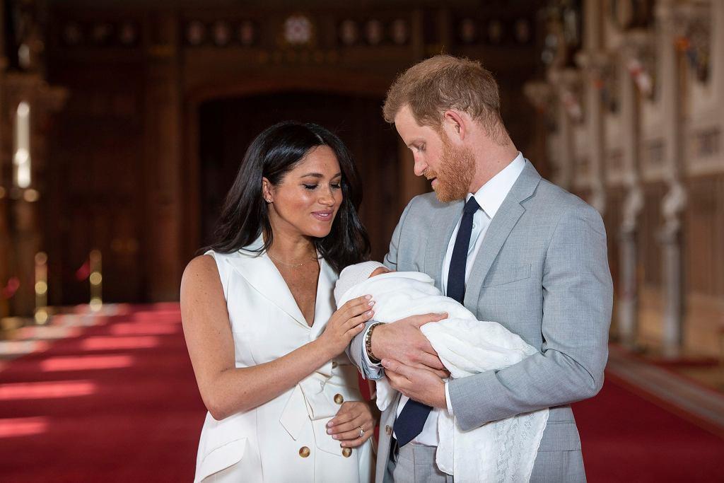 2019. Meghan Markle i książę Harry z pierwszym dzieckiem