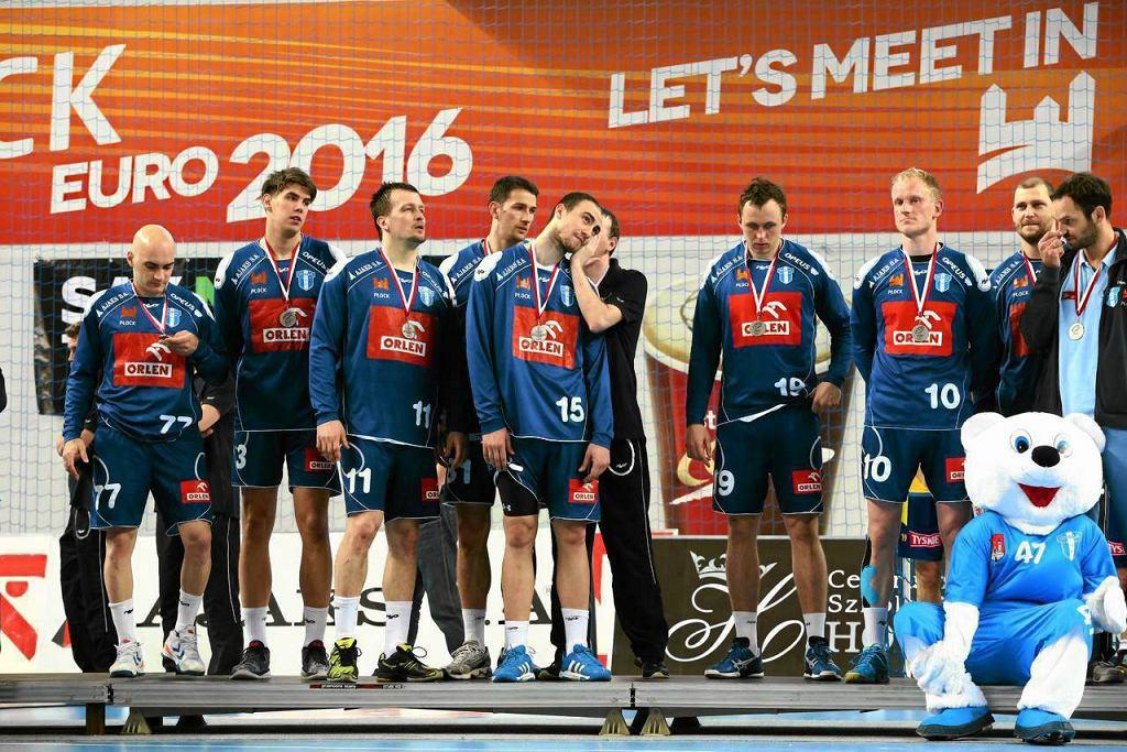 Drużyna piłkarzy ręcznych Orlen Wisły Płock - na zdjęciu po zdobyciu srebrnego medalu mistrzostw Polski. We wrześniu, po wyeliminowaniu francuskiego Montpellier, awansowała do Ligi Mistrzów