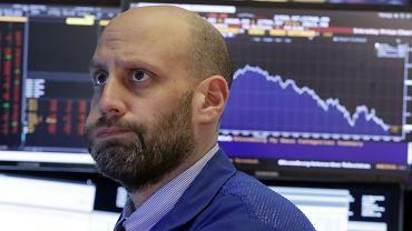 Na giełdzie w USA indeksy ostro w dół