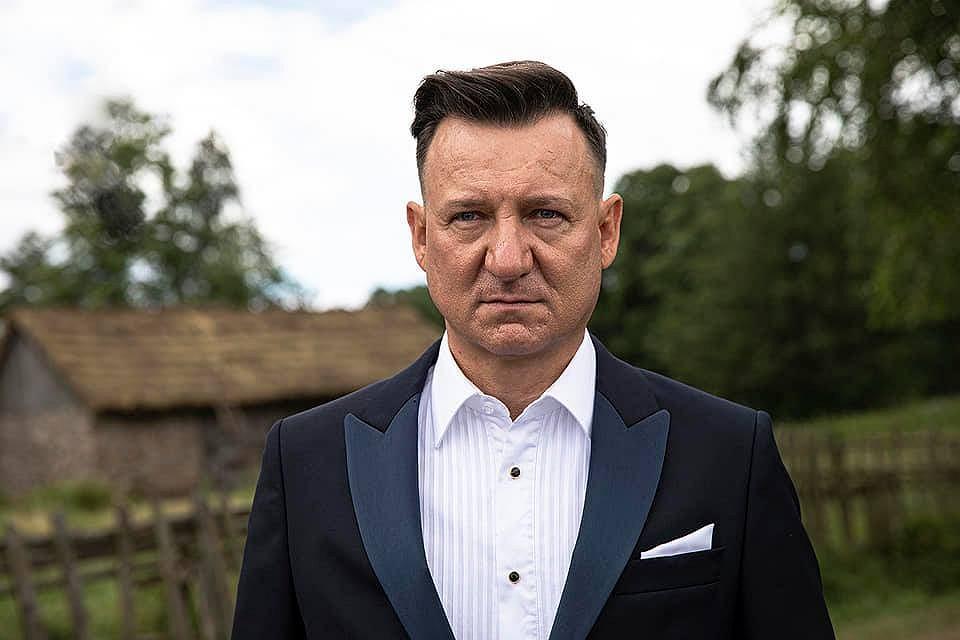 Robert Więckiewicz na planie 'Wesela 2'