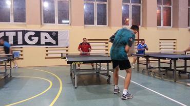 tenis stołowy, rozgrywki amatorów w Radomiu