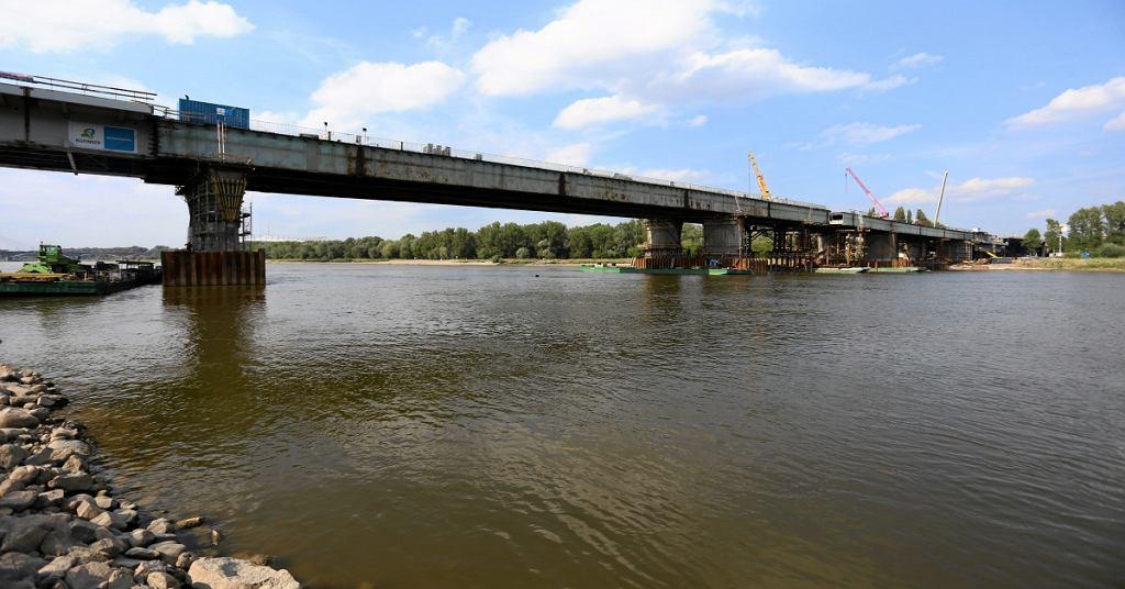 Kładki rowerowe most łazienkowski