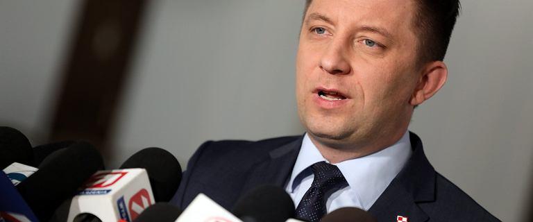 """Media: Michał Dworczyk ofiarą """"głupiego żartu"""". Strażacy w domu polityka"""