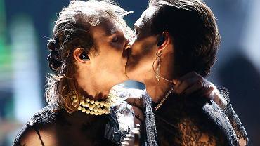 Polsat SuperHit Festiwal 2021 - pocałunek Maneskin