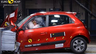 Renault Twingo (fot. Euro NCAP)
