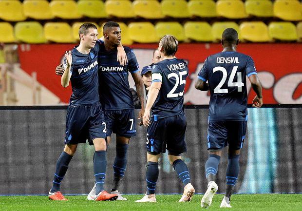 Liga Mistrzów. Sensacyjne wygrane Club Brugge i Crvenej zvezdy Belgrad