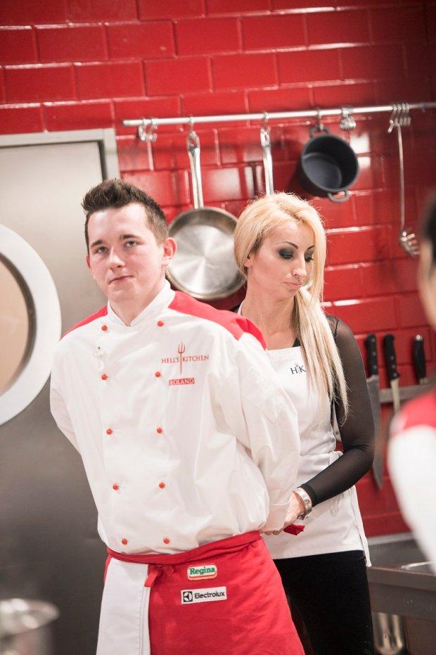 Jola Rutowicz w 'Hell's Kitchen'