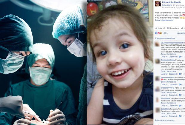 Niewidoma dziewczynka po operacji oczu widzi mamę pierwszy raz [WZRUSZAJĄCE WIDEO]