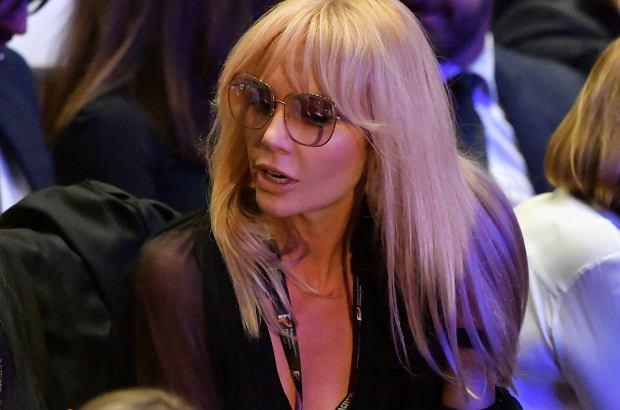 Agnieszka Woźniak-Starak jednak przybyła na Festiwal Filmowy do Gdyni. Fotoreporterzy dostrzegli gwiazdę w tłumie gości.