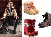 Buty idealne na śnieg wcale nie muszą być brzydkie! 18 modnych modeli na zimę