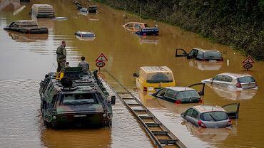 Skutki powodzi na zachodzie Niemiec