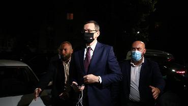 Nocna narada PiS w Krakowie