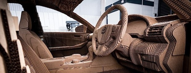Lexus IS | Tekturowe origami