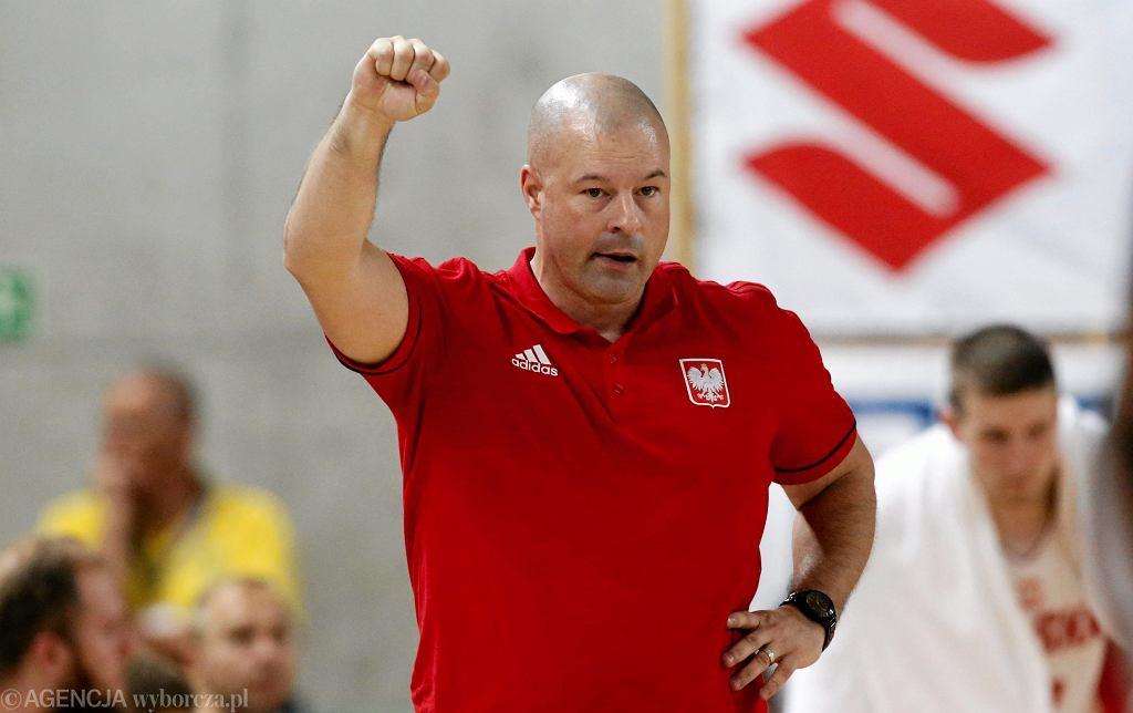 Trener Mike Taylor