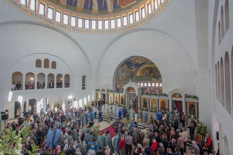 Zdjęcie numer 2 w galerii - Hagia Sophia w Warszawie niczym w Stambule. Pierwsza od zaborów nowa cerkiew w stolicy przyjęła wiernych