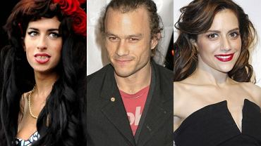 Amy Winehouse, Heath Ledger i Brittany Murphy