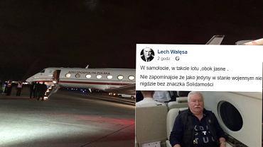 Lech Wałęsa i Andrzej Duda wylądowali w Waszyngtonie