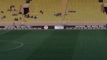 Banner dla Michaela Schumachera