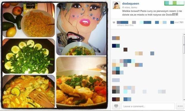 Screen z Instagram/Dodaqueen