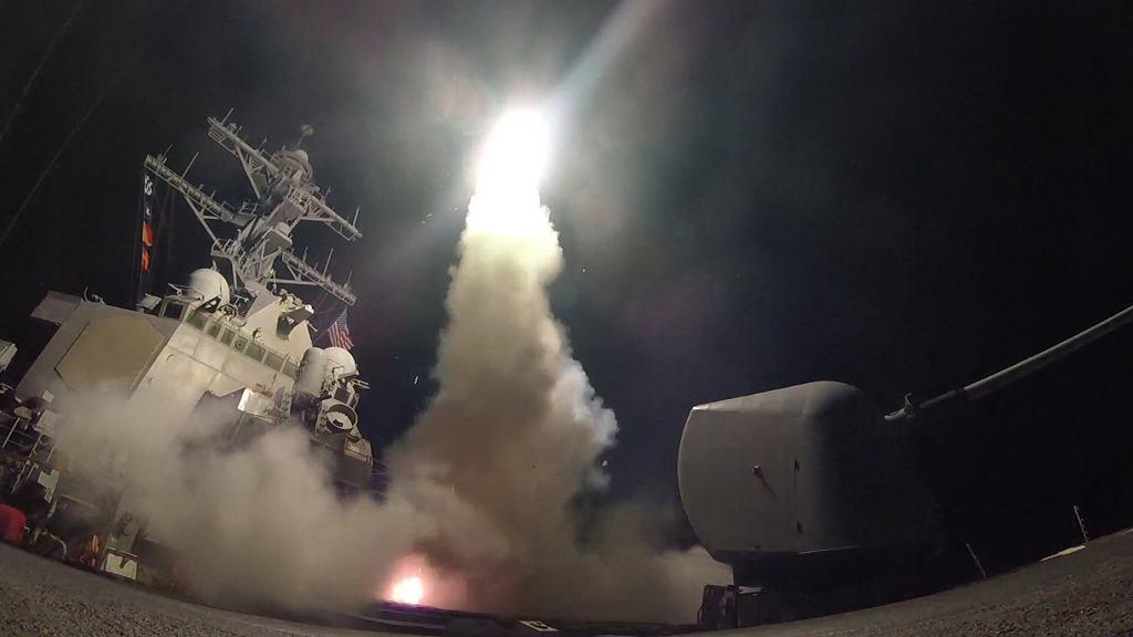 Amerykański atak rakietowy na Syrię w 2017 roku