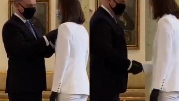 Iga Świątek, Andrzej Duda