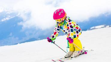 Dzieci na nartach