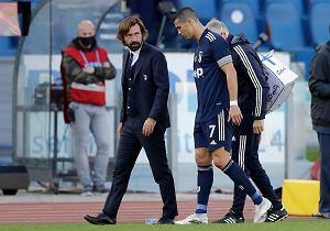 Pirlo tłumaczy, dlaczego Ronaldo nie zagrał. Trener pewny swojej przyszłości