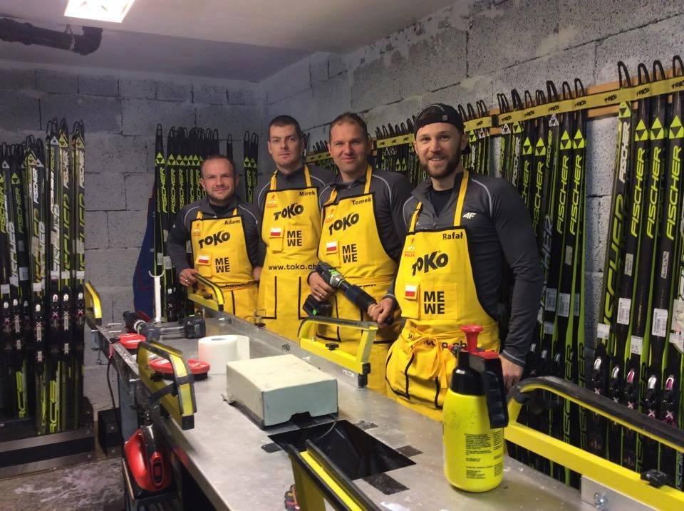 Od lewej: Adam Kwak, Mirosław Kobus, Tomasz Bernat i Rafał Lepel
