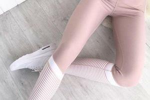 Pastelowe legginsy: zrezygnuj z szarości i postaw na kolor! Najpiękniejsze modele