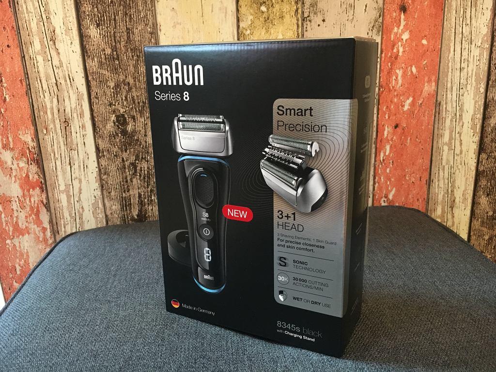 Braun series 8 - pudełko