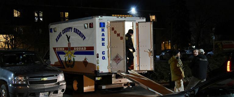 Strzelanina na przedmieściach Chicago. Sześć osób nie żyje, ranni policjanci