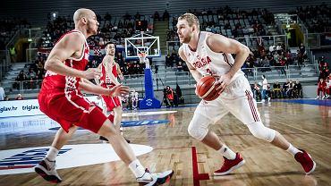 Koszykówka. Polska - Chorwacja