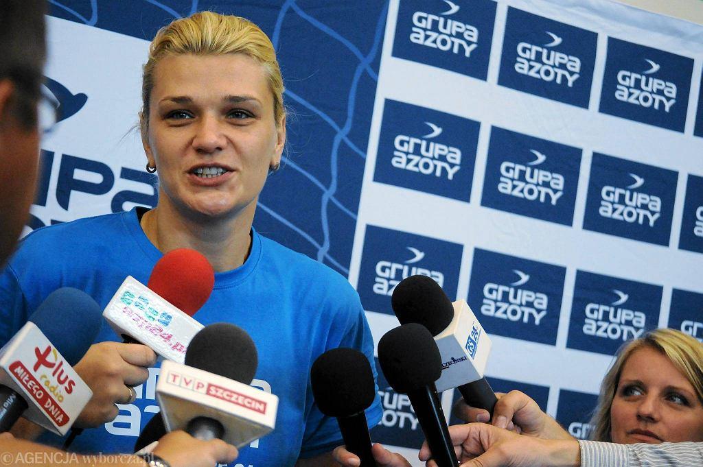 Małgorzata Glinka z Chemikiem może zdobyć pierwsze mistrzostwo Polski w karierze