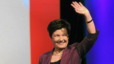 Prezydent Warszawy Hanna Gronkiewicz-Waltz, zdjęcie z 2011 roku