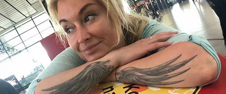 Martyna Wojciechowska wybrała się do kawiarni w kapciach i piżamie