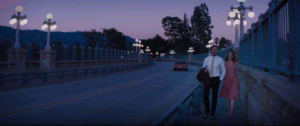 Emma Stone i Ryan Gosling, kadr z filmu