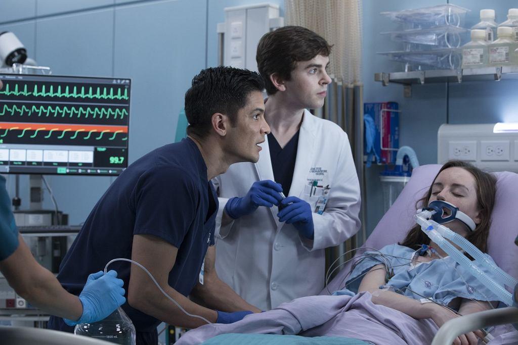 Kadr z filmu 'The Good Doctor' (fot. materiały prasowe AXN)