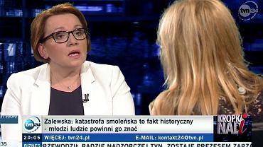 """Anna Zalewska w """"Kropce nad i"""""""