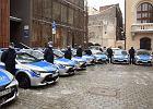 Hybrydowe radiowozy za 2 mln zł. Policja w Krakowie ma nowe samochody