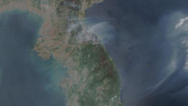 Korea Północna widziana z satelity NASA