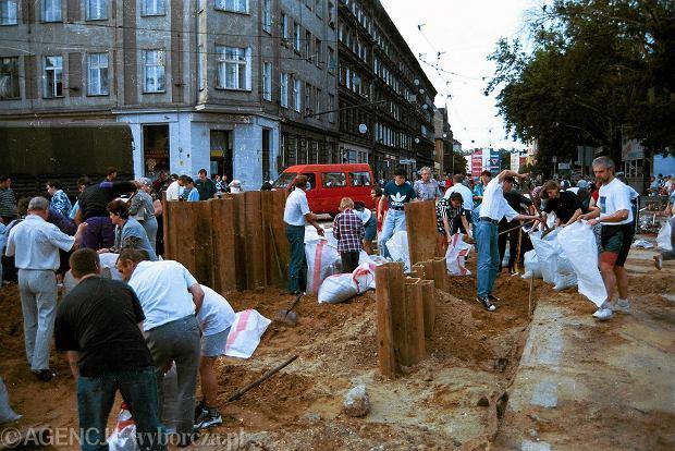 Zdjęcie numer 29 w galerii - 17 lat temu Odra zalała Wrocław. Tak wyglądało miasto [FOTO]