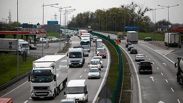 Liczne utrudnienia na autostradzie A4. (fot. ilustracyjna)