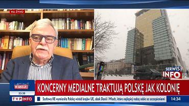 TVP Info o proteście mediów