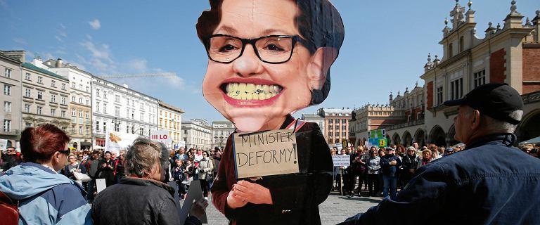 Strajk nauczycieli. Związkowcy nie wezmą udziału w okrągłym stole