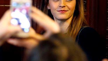 Ambasadorka dobrej woli Emma Watson promuje większy udział kobiet we władzy w Urugwaju.