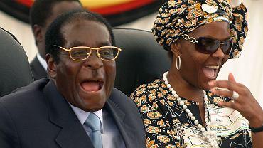 Robert i Grace Mugabe