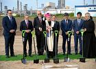 Ziemia poświęcona, prezes PiS dojechał. W Policach podpisano umowę na budowę wielkiej fabryki