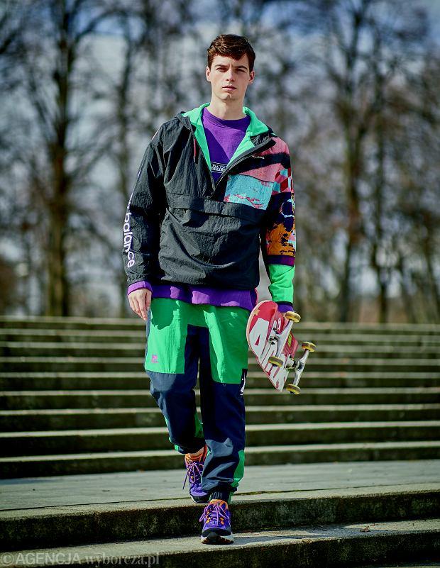 bluza Napapijri / Modivo.pl, 339 zł kurtka New Balance, 369,99 zł spodnie Hally Hansen, 399 zł buty New Balance, 399,99 zł