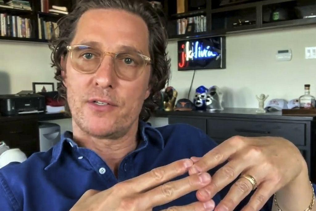 Matthew McConaughey planuje kandydować na gubernatora Teksasu