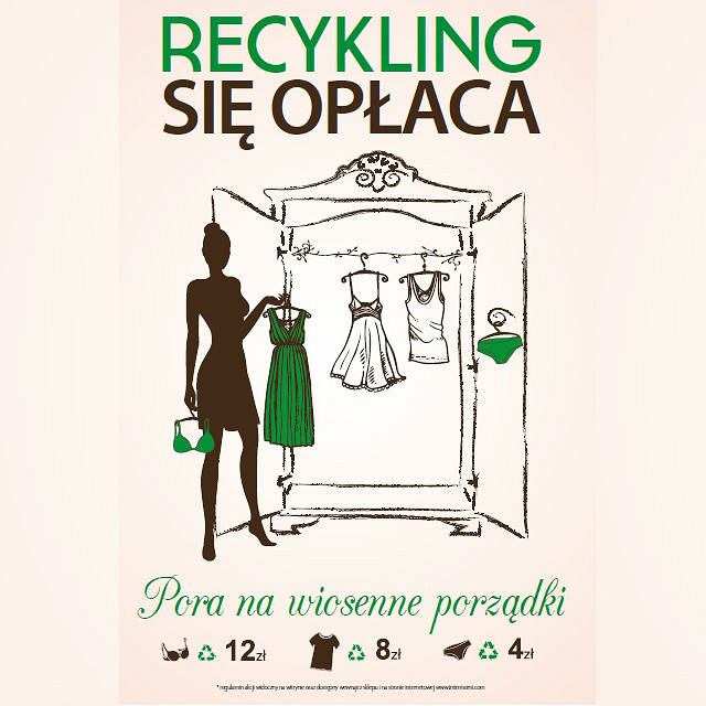 Recycling z Intimissimi